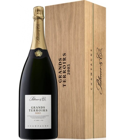 Champange Grands Terroirs 2003 Magnum Edition Limitee - Palmer & Co